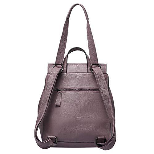 Ladies Deep Bag Shoulder Zaino Taglia colore Doppio Trend Size Red Fashion Ladies Zjexjj One Nero donna xXRqIwvYa