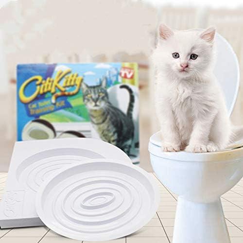 HUSHUS Artículos para Mascotas Mascota Entrenador Orinal tocador del Gato Gato Aseo Diseñado para Resolver los Problemas fisiológicos Gato: Amazon.es: Productos para mascotas