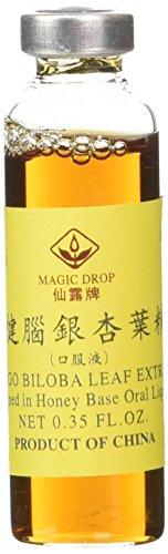 Magic Drop - Ginkgo Biloba Leaf Extract Oral Liquid, 10ccx30vials/box (Ginkgo Biloba Extract Liquid)