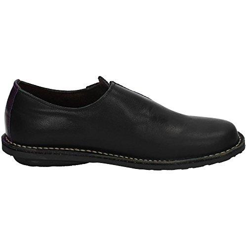 Negro EL Zapatos CORZO Mujer MOCASÍN 863 Negros Mocasines T01RTq