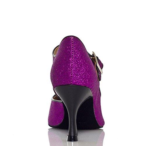Miyoopark - salón mujer Purple-7.5cm heel