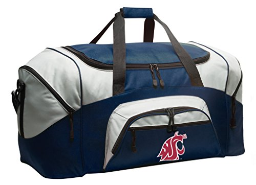 Broad Bay Washington State University Duffel Bag Washington State Gym Bags or Luggage by Broad Bay