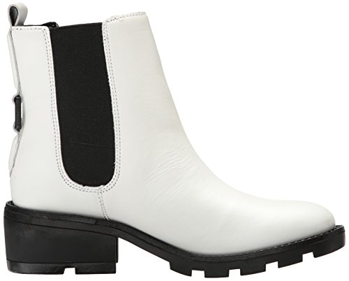 Kendall + Kylie Womens Porter Chelsea Boot Bianco