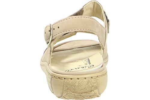 Waldläufer Garda 210004/191094 Mujer Confort Sandalias Beige - beige