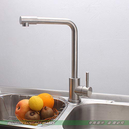 redOOY Taps Stainless Steel Faucet Thermostat Kitchen Faucet Hot And Cold Water Sink Sink Mixing Valve