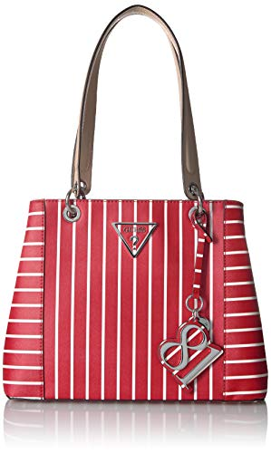 GUESS Kamryn Red Stripe Shopper product image
