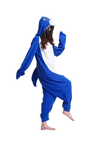 Cosplay Cartoon Insetti Adulti Pigiami Felpa Animali Squalo Kigurumi Pigiameria Costumi Blu Onesie Unisex Magicmode qET5nHH
