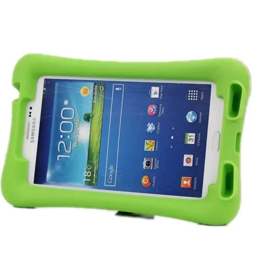finest selection 0484b 10860 iShining Samsung Galaxy Tab 3 7.0 Case Shock Proof Case Kids ...