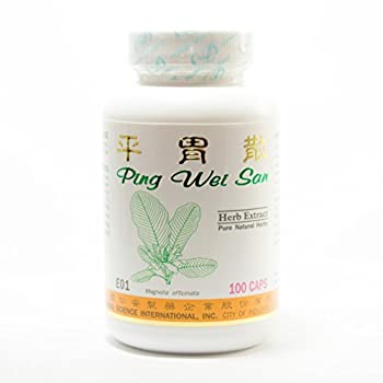 Stomach Comfort Dietary Supplement 500mg 100 capsules (Ping Wei San) 100% Natural Herbs