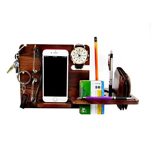 Wooddypeople Natural Sheesham Wood Mobile Stand for Multi Purpose