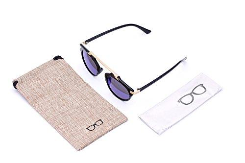 Optition Mirrored Lens Fashion Designer Sunglasses for - Gladiator Sunglasses