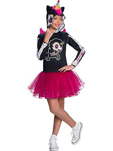 Rubie's Child's Tokidoki Costume, Dia De Los Muertos Caramelo Unicorno, -