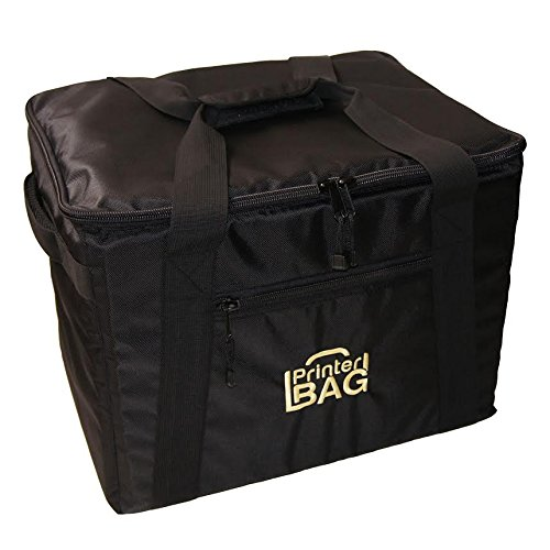 PrinterBag - PRINTER CARRYING CASE. Fits most Hiti Photo Printers such as Hiti P525L, P520L, P510S, P510si, P510K, P510L, Hiti P510 series. (also great for carrying paper & ribbon media kit) by PrinterBag®