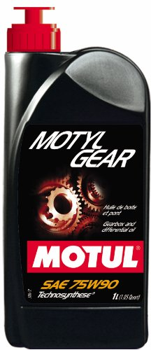 (Motul 31701L Motylgear Technosynthese 75W90 Gearbox and Differential Lubricant - 1 Liter)