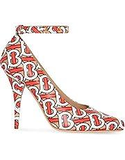 BURBERRY Luxury Fashion Womens 8012322 Beige Pumps | Season Permanent