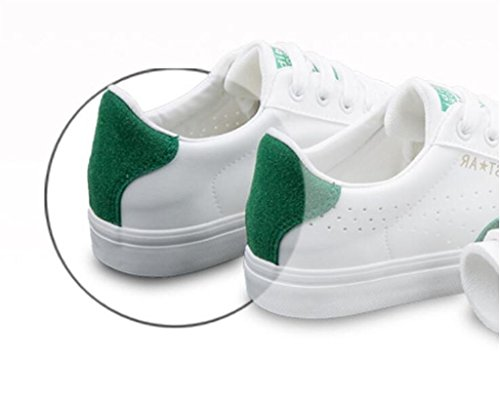 Flat Verde Bottom Cómodo Ocio Permeabilidad Nvxie Blanco White Wear Zapatos De Movimiento Green Junta La Corriendo xwF0zOz8qA