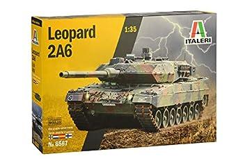 Italeri 6567S 6567S-1:35 Leopard 2A6 - Maqueta de ...