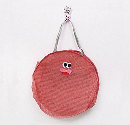 mk. park - 1 Pcs Fashion Women Grid Zipper Cosmetic Bag Organizer Travel Wash Storage Bag (Pink)