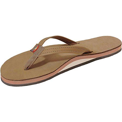 Rainbow Sandals Women's Sierra Leather Single Arch Lime C...