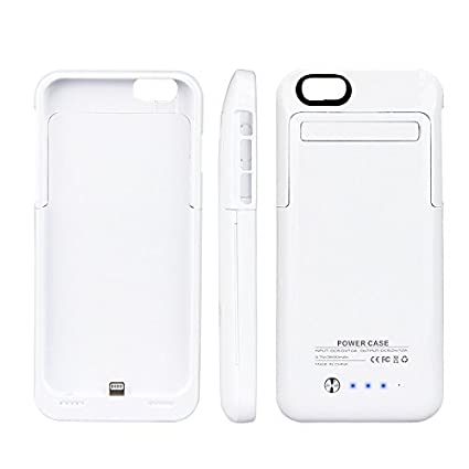 Amazon.com: Kujian iphone 6 carcasa de batería 3500 mAh ...