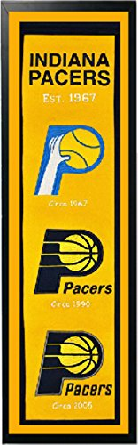 Encore Indiana Pacers Logo History Felt Banner - 14 x 37 ()