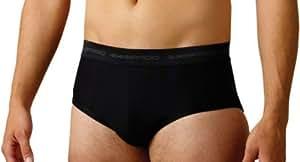 ExOfficio Men's Give-N-Go Sport Brief,Black,Small