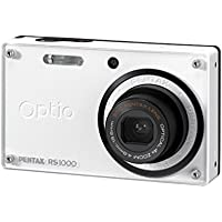 Optio RS1000 14.1 Megapixel Compact Camera - 4.90 mm-19.60 mm - White