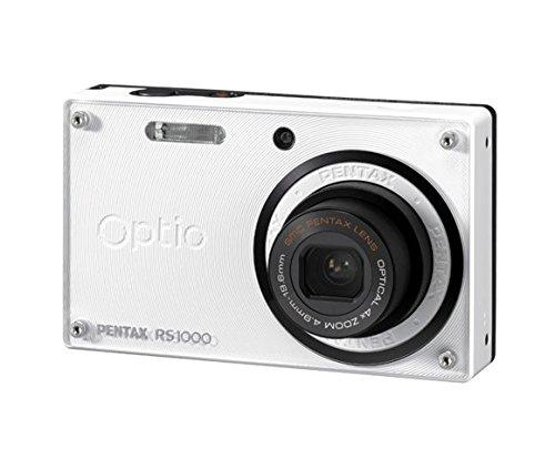 Optio rs1000 14.1メガピクセルコンパクトカメラ – 4.90 mm-19.60 MM – ホワイト   B004AFPJYI
