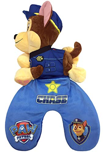 Paw Patrol Chase Reversible Travel Pillow & Plush Toy
