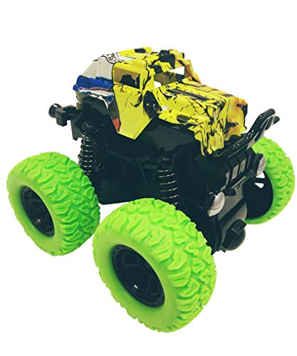Cross Country Vehicle - HorBous Super Inertia Cross Country Vehicle Off-Road Vehicle Off-rode Cars Toys 4 Colors (Green)
