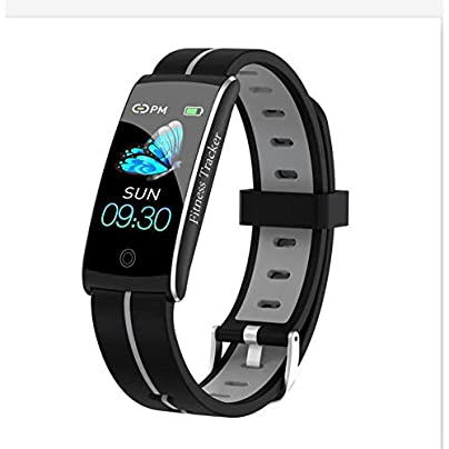 Fitness Tracker Heart Rate And Sleep Monitor Color Screen Activity Tracker Pedometer IP68 Waterproof Smart Wristband Fit for Women Men Kids Estimated Price £34.99 -