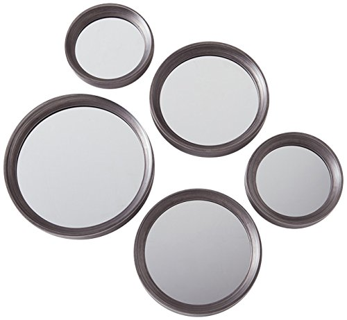 Torre & Tagus 902073A Portico Antique Pewter Mirrors (Set of 5)