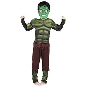 Lvvvs NiñO Musculo De Hulk Disfraz De Halloween Cosplay Fiesta De ...
