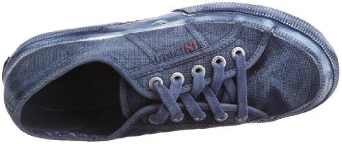 Superga Mens 2750 Distressed Low Top Sneakers Navy 4.5 Medium (D)