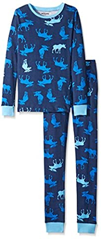 Little Blue House by Hatley Big Boys' Long Sleeve Printed