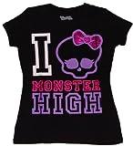 Monster High I Love Monster High Girls T-shirt