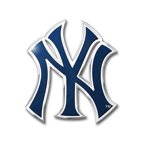 Hall Of Fame Emblem - New York Yankees Color Auto Emblem - Die Cut (Please see item detail in description)