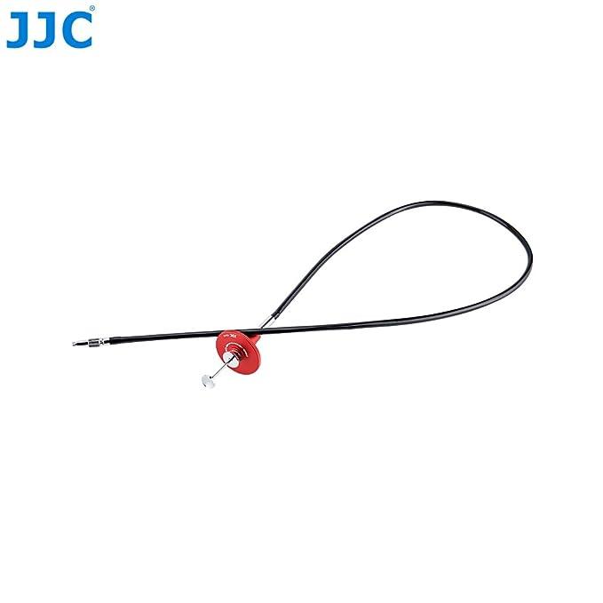 Length: 70cm//27.6 BV /& Jo Mechanical Locking Camera Shutter Release Cable with Bulk Lock for Camera Accepts Standard Mechanical Cable Release for Canon Nikon Fuji Sony Camera