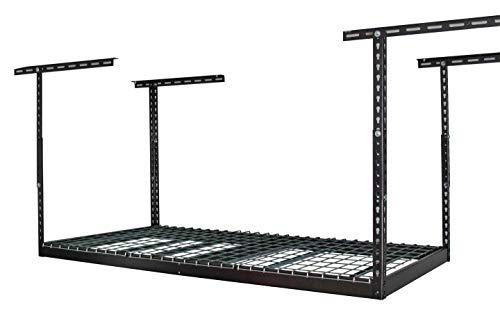 "MonsterRax - 3x6 Overhead Garage Storage Rack – Hammertone (24""-45"")"