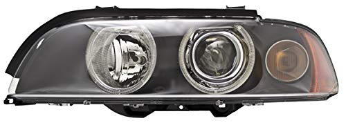 Hella 008052111 Xenon Headlamp Upgrade Round LH(Driver) Side Clear Lens 10 Watt w/White Turn And CELIS Xenon Headlamp Upgrade