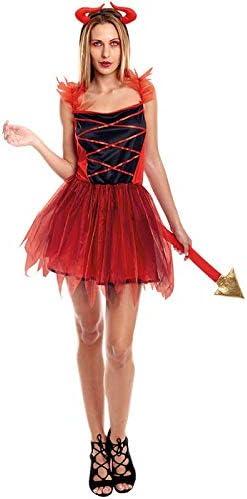 Disfraz Diablesa Tutú Mujer (Talla M) Halloween: Amazon.es ...