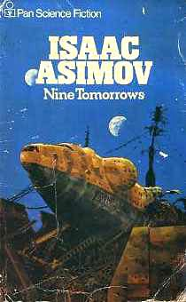book cover of Nine Tomorrows