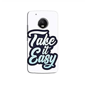 Cover It Up - Take It Easy Moto G5 Plus Hard Case