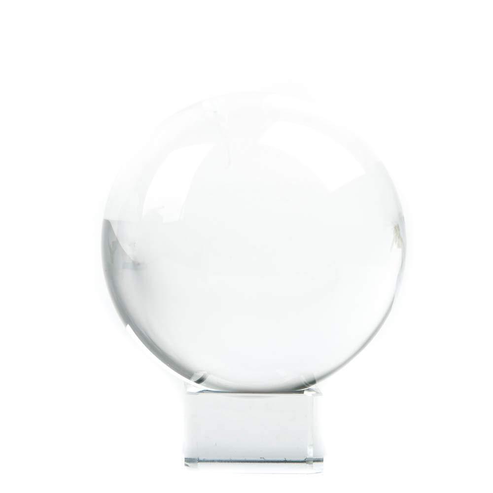 Find Something Different Kristallkugel mit Glasständer, 20 cm