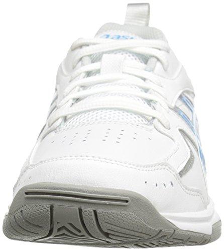 Asics Gel-Acclaim Uomo US 10 Bianco Larga Scarpe ginnastica