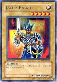 Yu-Gi-Oh! - Jack's Knight (EEN-EN005) - Elemental Energy - Unlimited Edition - Rare (Gi Oh Knight Yu Jacks)