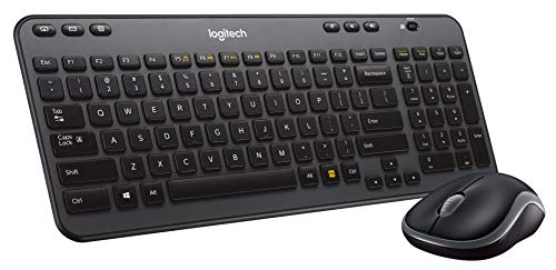 Logitech Wireless Combo MK360 – Includes Keyboard with 12 Programmable Keys and Wireless Mouse, Compact Package Perfect…