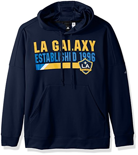 adidas MLS Los Angeles Galaxy Adult Women Bottom bar Slant Team Issued Hood, Medium, Collegiate Navy Adidas Lined Shorts