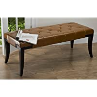 Safavieh Tyler Bench, Saddle