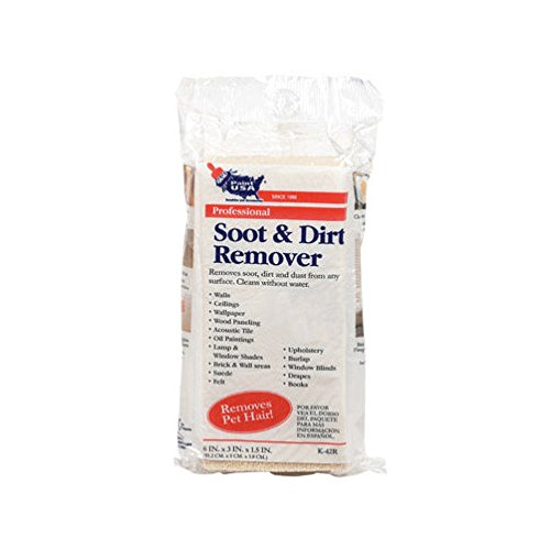 - Soot & Dirt Remover Sponge (K-42R)